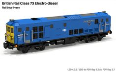 Lego BR Class 73 Rail Blue | Flickr - Photo Sharing!