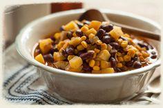 Kenyan Corn and Bean Stew