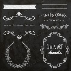Want some cute, fun elements for your business templates? These are perfect for adding in text and sassing up some of your cards, brochures, and anything else you wish to add them to! Here is what you get:8- chalk art elements in PSD format.YOU MUST HAVE PHOTOSHOP CS OR PHOTOSHOP ELEMENTS TO USE THIS FILE! They come all on a 12x12 canvas in layered format. You can drag and drop or copy and paste the layers to your document.These are for LIMITED COMMERCIAL USE, this means t...