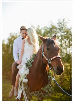 horse riding engagement shoot