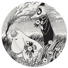 Moomin Plate | A Beautiful Day | Other | Bloomsbury Store