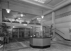 Vintage Portsmouth: The Odeon Cinema in Southsea Portsmouth City, Portsmouth England, Cinema Theatre, Theater, Streamline Moderne, Grand Foyer, English Heritage, Isle Of Wight, Art Deco Design