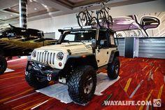 2013 SEMA Rugged Ridge Tan Jeep JK Wrangler 2-Door