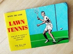 KNOW THE GAME LAWN TENNIS 1967 BOOKLET