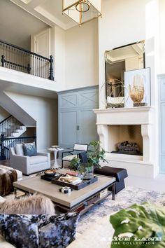 Making your living room chic, casual and classy! Ivory Lane Family Room. #emilyijackson @emilyijackson Designed by Alice Lane Interiors
