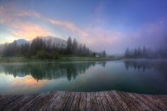 A misty morning |