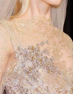 dixias:    detail at elie saab couture fall 2012