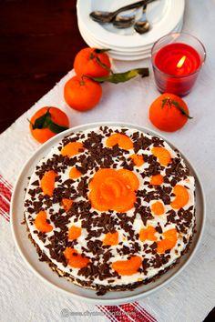 CHEESECAKE CU PORTOCALE SI MANDARINE | Diva in bucatarie White Chocolate, Acai Bowl, Cheesecake, Mousse, Breakfast, Sweet, Desserts, Recipes, Diva