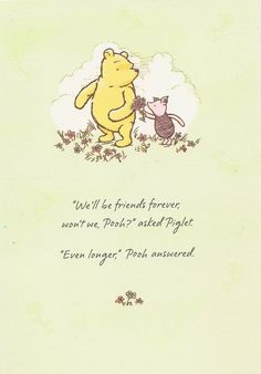 Pooh and Piglet ♥