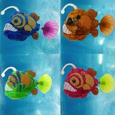 2017 New Aquarium Funny Swim Electronic fish Activated Battery Powered Toy Pet for Fishing Tank Decorating Fish Lantern fish