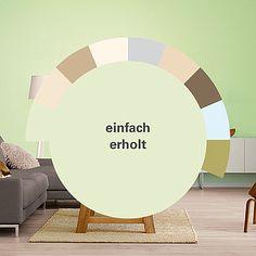 Wandfarben Für Eine Lebendige Raumwirkung: Alpina Farbrezepte