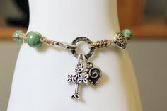 Celtic Rosary Bracelet African Jade by OHineKnotwork on Etsy Celtic Bracelet, Rosary Bracelet, Praying The Rosary, Confirmation Gifts, Jade Beads, Sacred Heart, Celtic Knot, Artisan Jewelry, Dangles