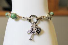 Celtic Rosary Bracelet African Jade by OHineKnotwork on Etsy