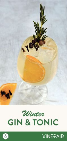 Winter Gin & Tonic RECIPE