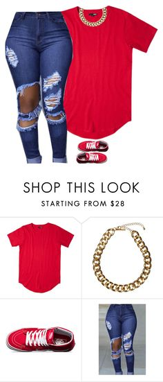 """Untitled #766"" by prettygirlnunu ❤ liked on Polyvore featuring Club Manhattan and Vans"