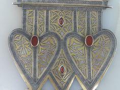 Turkmenistan tribal vintage silver Go has a Asyk von turkmenarts