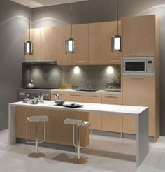 Kitchen cabinets are very important for your kitchen, since they not only improve the space in your kitchen but it designed effectively will also add to the ambiance of your kitchen.