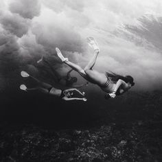Let's go exploring under the sea and then scrub the night away.