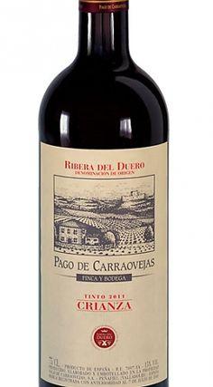 Pago de Carraovejas Crianza 2011. El vino de la cena en La Bodega de los Secretos. Madrid
