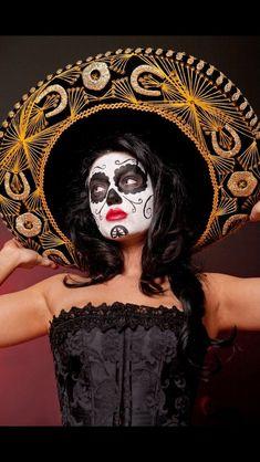 dia de Los Muertos/ bandita style