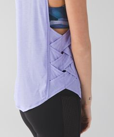 Var-City Muscle Tank from lululemon. Saved to Things I want. #purplethings. Shop more products from lululemon on Wanelo.