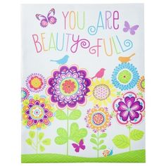 Wall Canvas - You are Beauty Full 14x18