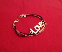 A personal favorite from my Etsy shop https://www.etsy.com/listing/210698527/50-salelove-braceletfriendship-black