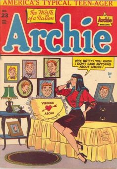 Cover for Archie Comics (1942 series) #23