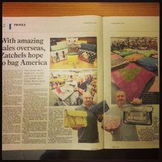 Zatchels in Leicester Mercury