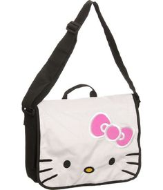 403bdabc3368 Buy.com - Hello Kitty White Plush Face Messenger Bag Hello Kitty Purse