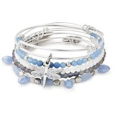 Buy Alex and Ani Dragonfly Set of 5, , shop here: www.fabulouscollections.co.uk
