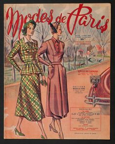'MODES DE PARIS' FRENCH VINTAGE NEWSPAPER 11 NOVEMBER 1949 | eBay