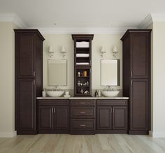Regency Pomegranate Glaze   Ready To Assemble Bathroom Vanities U0026 Cabinets    Bathroom Vanities   Vanities, Laundry U0026