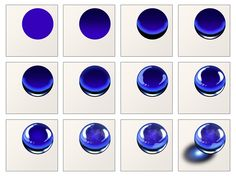 구슬 Digital Painting Tutorials, Digital Art Tutorial, Art Tutorials, Jewellery Sketches, Jewelry Drawing, Art Sketches, Art Drawings, Polychromos, Glass Marbles