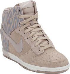 Nike Dunk Sky Hi-Print Sneakers on shopstyle.co.uk