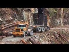 Log Truck Drivers part 1 of 2 - www.TruckingFantastic.com