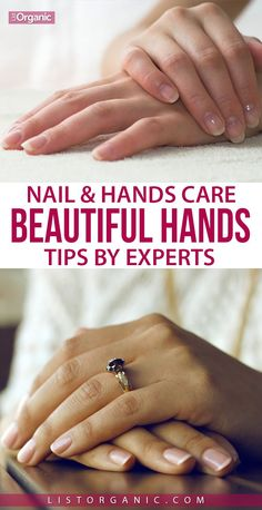 8 Nail And Hands Care Tips By Experts For Beautiful Hands. Nail Care Routine, Nail Care Tips, Manicure Tips, Manicures, Nurse Nails, Natural Manicure, Organic Nails, Clean Nails, Hand Care