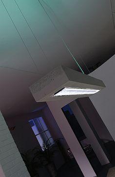 d-CONCRETE DARK / design / lighting / darling #DARK Hotel Indigo, Birmingham, Concrete, Lighting, Dark, Design, Home Decor, Birmingham Alabama, Lights