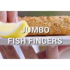 Just 60 seconds to see my JUMBO fish fingers. the perfect family freezer fave! Beautiful salmon is packed with omega-3 fatty acids.. great for keeping our blood cholesterol healthy guys Watch on tonight's Jamie's Super Food, @channel4 at 8pm x X JO X recipe from my #FamilySuperBook on page 228 x