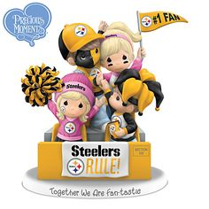 Together We Are Fan-tastic Pittsburgh Steelers Figurine