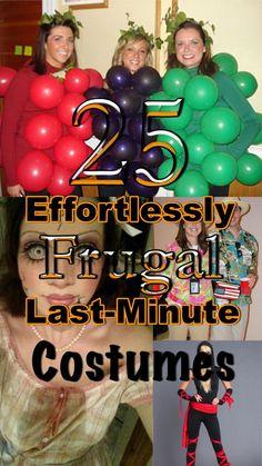 25 effortlessly frugal last minute halloween costumes - Inexpensive Halloween Costume