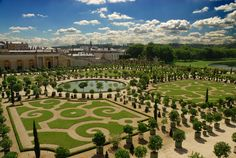 Gardens of Versailles by André Le Nôtre (1664-1684), France. Baroque art and architecture.