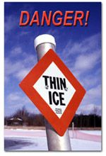 Ice Safety- What are the General Rules to Abide By? Water Safety, Safety Tips, Lakes, Ice, Ice Cream, Ponds