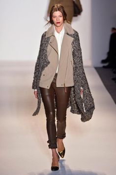 Rachel Zoe FALL 2013 | the warm hues & layers of mixed materials that I <3 about autumn :)