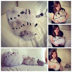 Pusheen pillows ok, so uh... I want one of these...-Natasha.