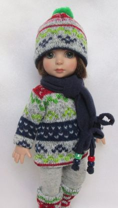 """PATSY'S KNITTY AND WITTY FOR FALL!  FOR 10""""ANN ESTELLE, ETC.MADE BY SSDESIGNS"""