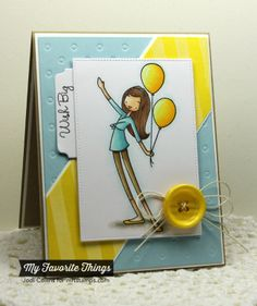 a la modes Big Birthday Wishes, Striped Background, Blueprints 1 Die-namics, Blueprints 2 Die-namics, Mini Tabs Foursome Die-namics, Pierced Rectangle STAX Die-namics, Polka Dot Cover-Up Die-namics - Jodi Collins #mftstamps