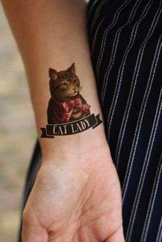 Tatuajes de gatos: Fotos de algunos diseños (15/41) | Ellahoy