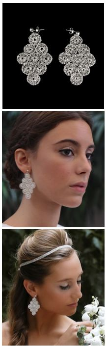 Best earrings ever: give you the best look and are so light! Hand made Silver perfect for any occasion.  www.hilosdeplata.com