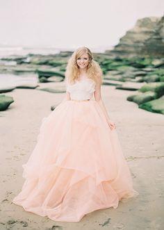 Vestidos de novia color rosa [FOTOS] | ActitudFEM
